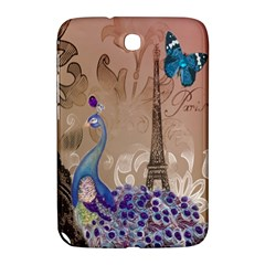 Modern Butterfly  Floral Paris Eiffel Tower Decor Samsung Galaxy Note 8 0 N5100 Hardshell Case  by chicelegantboutique