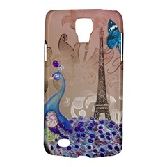 Modern Butterfly  Floral Paris Eiffel Tower Decor Samsung Galaxy S4 Active (i9295) Hardshell Case by chicelegantboutique