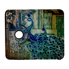 French Scripts Vintage Peacock Floral Paris Decor Samsung Galaxy S  Iii Flip 360 Case by chicelegantboutique
