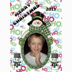 Holiday Card #4, 5x7 By Joy Johns   5  X 7  Photo Cards   Lu170f5xa4mz   Www Artscow Com 7 x5 Photo Card - 5