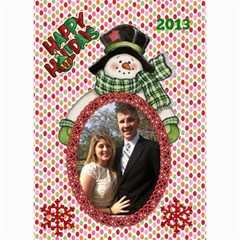 Holiday Card #3, 5x7 By Joy Johns   5  X 7  Photo Cards   Fndpzs8v8zm5   Www Artscow Com 7 x5 Photo Card - 6