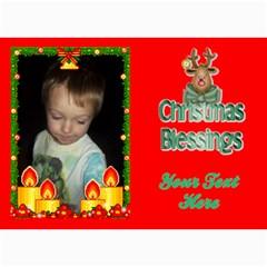 Holiday Card #7, 5x7 By Joy Johns   5  X 7  Photo Cards   Inas7jlpxs5q   Www Artscow Com 7 x5 Photo Card - 2
