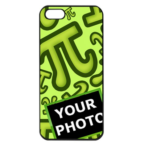 Case Pi Numbers Green By Matematicaula   Apple Iphone 5 Seamless Case (black)   I5ahep0byhpf   Www Artscow Com Front