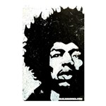 HENDRIX NO FONT - Shower Curtain 48  x 72  (Small)