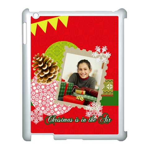Merry Christmas By Merry Christmas   Apple Ipad 3/4 Case (white)   6ttiqkduvqzl   Www Artscow Com Front