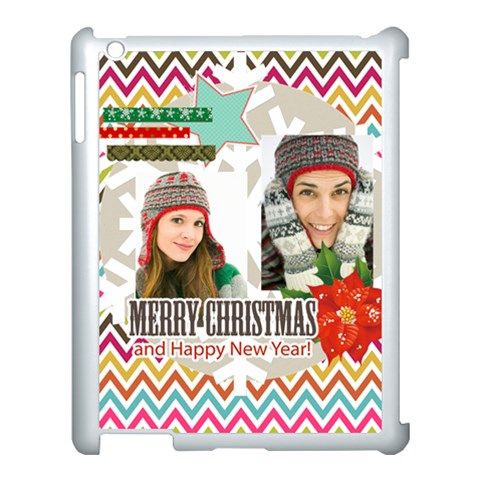 Merry Christmas By Merry Christmas   Apple Ipad 3/4 Case (white)   Ohfxv5d7c3en   Www Artscow Com Front