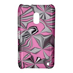 Foolish Movements Pink Effect Jpg Nokia Lumia 620 Hardshell Case by ImpressiveMoments