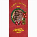 Holiday photo card #8, 4x8 - 4  x 8  Photo Cards