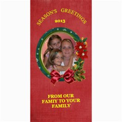 Holiday Photo Card #8, 4x8 By Joy Johns   4  X 8  Photo Cards   6omsskdrd9nj   Www Artscow Com 8 x4 Photo Card - 6