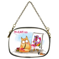 Pookiecat   Picatso  Chain Purse (two Sided)  by PookieCat