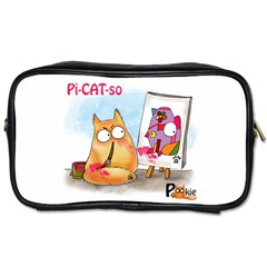 Pookiecat   Picatso  Travel Toiletry Bag (one Side) by PookieCat