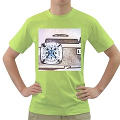 Kodak (7)d Mens  T Shirt (green) by KellyHazel