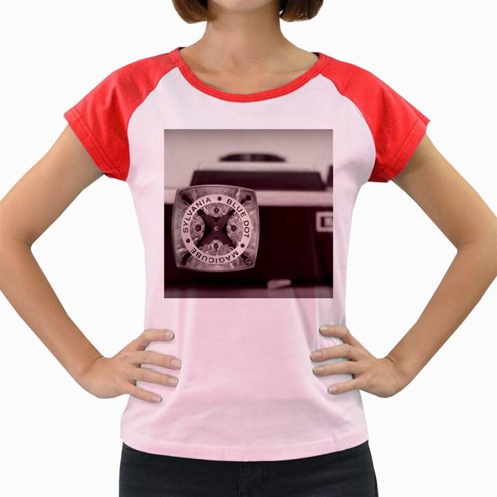 Kodak (7)s Women s Cap Sleeve T-Shirt (Colored)