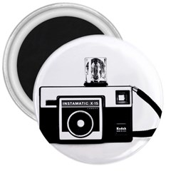 Kodak (3)cb 3  Button Magnet by KellyHazel