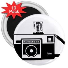 Kodak (3)cb 3  Button Magnet (10 Pack)