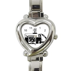 Kodak (3)cb Heart Italian Charm Watch