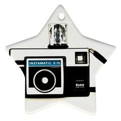 Kodak (3)c Star Ornament