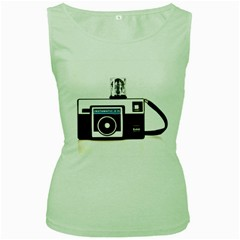 Kodak (3)c Womens  Tank Top (green) by KellyHazel