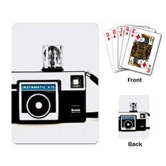 Kodak (3)c Playing Cards Single Design by KellyHazel