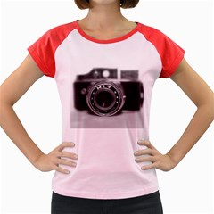 Hit Camera (2) Women s Cap Sleeve T Shirt (colored) by KellyHazel