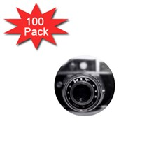 Hit Camera (2) 1  Mini Button Magnet (100 Pack) by KellyHazel