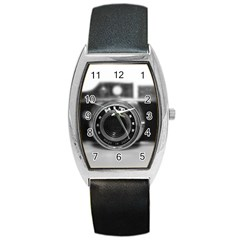 Hit Camera (2) Tonneau Leather Watch