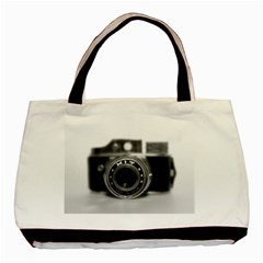 Hit Camera (2) Twin Sided Black Tote Bag by KellyHazel