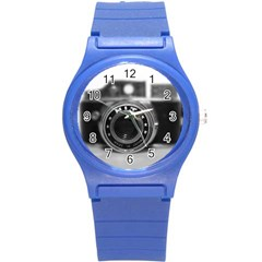 Hit Camera (2) Plastic Sport Watch (small) by KellyHazel