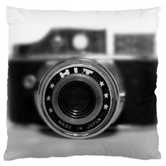 Hit Camera (2) Large Cushion Case (two Sided)  by KellyHazel