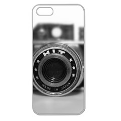 Hit Camera (2) Apple Seamless iPhone 5 Case (Clear)