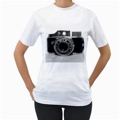 Hit Camera (3) Womens  T Shirt (white)