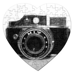 Hit Camera (3) Jigsaw Puzzle (heart) by KellyHazel