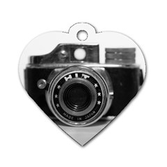 Hit Camera (3) Dog Tag Heart (two Sided) by KellyHazel
