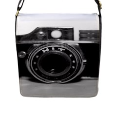 Hit Camera (3) Flap Closure Messenger Bag (large) by KellyHazel