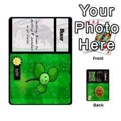 Plants Vs  Zombies By Ajax   Playing Cards 54 Designs   Rc73mtsn0tpi   Www Artscow Com Front - Spade2