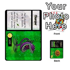 Queen Plants Vs  Zombies By Ajax   Playing Cards 54 Designs   Rc73mtsn0tpi   Www Artscow Com Front - SpadeQ
