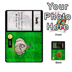 Plants Vs  Zombies By Ajax   Playing Cards 54 Designs   Rc73mtsn0tpi   Www Artscow Com Front - Heart8