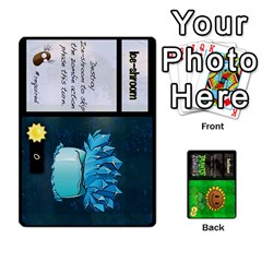 Plants Vs  Zombies By Ajax   Playing Cards 54 Designs   Rc73mtsn0tpi   Www Artscow Com Front - Heart9