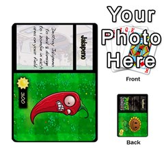 Queen Plants Vs  Zombies By Ajax   Playing Cards 54 Designs   Rc73mtsn0tpi   Www Artscow Com Front - HeartQ
