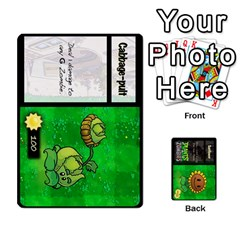 Plants Vs  Zombies By Ajax   Playing Cards 54 Designs   Rc73mtsn0tpi   Www Artscow Com Front - Spade5