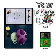 King Plants Vs  Zombies By Ajax   Playing Cards 54 Designs   Rc73mtsn0tpi   Www Artscow Com Front - DiamondK