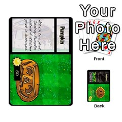 Ace Plants Vs  Zombies By Ajax   Playing Cards 54 Designs   Rc73mtsn0tpi   Www Artscow Com Front - DiamondA