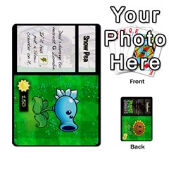 Plants Vs  Zombies By Ajax   Playing Cards 54 Designs   Rc73mtsn0tpi   Www Artscow Com Front - Club9