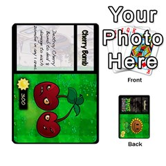 Plants Vs  Zombies By Ajax   Playing Cards 54 Designs   Rc73mtsn0tpi   Www Artscow Com Front - Spade9