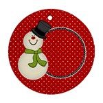 Joyful Joyful Round Ornament 2 - Ornament (Round)