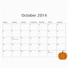 Eddie By Katy   Wall Calendar 11  X 8 5  (12 Months)   8e8j2la2pzbn   Www Artscow Com Oct 2014