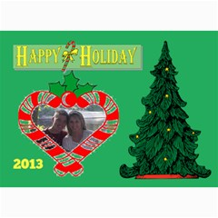 Holiday Card #12, 5x7 By Joy Johns   5  X 7  Photo Cards   4r37nsjuimbh   Www Artscow Com 7 x5 Photo Card - 5