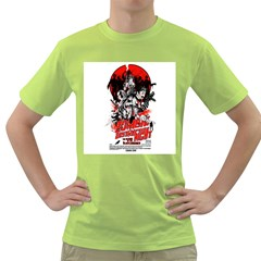 Zombie destruction Night Mens  T-shirt (Green) by Contest1741083