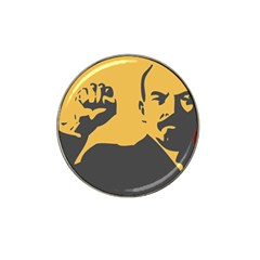 Power With Lenin Golf Ball Marker (for Hat Clip)