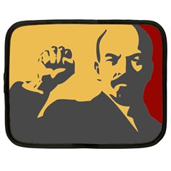 Power With Lenin Netbook Case (xl) by youshidesign